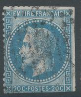 Lot N°47206  Variété 64A2/n°29B, Oblit, Six Points Blancs Face Au Visage - 1863-1870 Napoleon III With Laurels