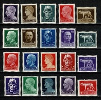 Italia  1929-30 - Yv  224/243**,  MNH  Cat. € 75,00 - 6. 1946-.. República