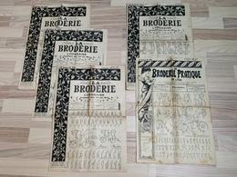 Lot De Journaux 1912 - La Broderie Lyonnaise - Patterns