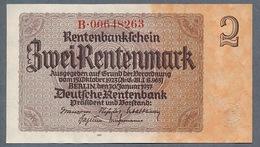 P174 Ro167c DEU-223c 2 Rentenmark 1937 UNC NEUF! - [ 3] 1918-1933: Weimarrepubliek