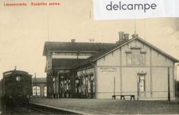 CPA - FINLANDE -   GARE  De  LAPPEENRANTA -  Rautatien   Asema - Finlande