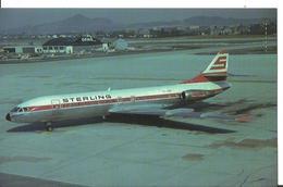 CP AVION CARAVELLE SE 210 10B3 OY-STF  STERLING AIRWAYS 1962-1993 - 1946-....: Era Moderna