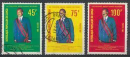 °°° REPUBBLICA DEL CONGO - Y&T N°613/15 - 1981 °°° - Congo - Brazzaville