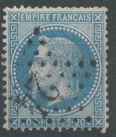 Lot N°47213  N°29B, Oblit étoile Chiffrée 24 De PARIS (R. De Cléry) - 1863-1870 Napoleon III With Laurels