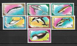 Mongolia 1990 Whales And Dolphins   MNH - Mongolie