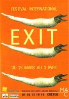 """Carte Postale """"Cart'Com"""" (1999) - Maison Des Arts André Malraux Créteil - Festival EXIT (crocodile) - Publicité"""