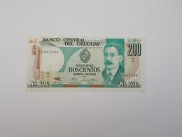 BILLET NEUF DE  200 NUEVOS PESOS - Uruguay