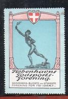 1910. Københavns Fodsports- Forening. K.F.F. DANMARKS ÆLDSTE Og STØRSTE - Erinnophilie