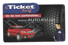 Ticket Surf  Www. Autojeu .com - Frankrijk