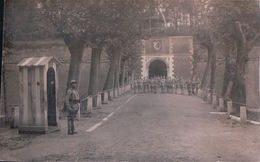 CARTE PHOTO Jülich 20 Septembre 1920 Caserne Charlemagne 168e RI - Juelich