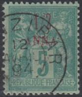 Zanzibar Bureau Français - N° 01 (YT) N° 1 (AM) Oblitéré. - Zanzibar (1894-1904)