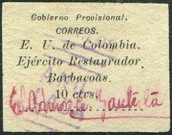Colombia 1901 Civil War Provisional BARBACOAS Local Post Poste Provisoire Colombie Provisorische Lokal Ausgabe Kolumbien - Colombie