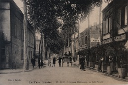 Albi - L'avenue Dembourg , Au Café Pernod - Albi