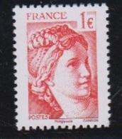 2017-N°5179** SABINE DE GANDON ISSU FEUILLET - France