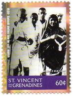 ST VINCENT 1v MNH** Mahatma Ghandi - Gandhi - India - Celebrities Non Violence - Mahatma Gandhi