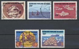 °°° REPUBBLICA DEL CONGO - Y&T N°738/42 - 1984 °°° - Congo - Brazzaville