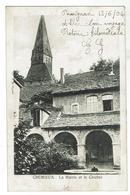 CREMIEU - La Mairie Et Le Clocher - Circulée 1904-  Dos Simple  -  Bon état - Crémieu