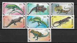 Mongolia  1991 Reptiles    MNH - Mongolie