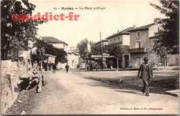 B001N6310 14 Ruoms La Place Publique - Ruoms