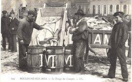 Carte Postale Ancienne De BOULOGNE Sur MER - Triage Des Canapés - Boulogne Sur Mer
