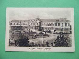 Sukhum (Sukhumi) 1917 Sanatorium AGADZERA. Georgia. Russian Postcard - Géorgie