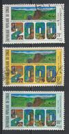 °°° REPUBBLICA DEL CONGO - Y&T N°817/19 - 1987 °°° - Congo - Brazzaville