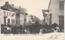 Hannut - Entrée De Monseigneur L' Evèque De Liège - Edit. Dubois à Hannut - Hannut