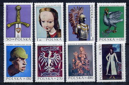 POLAND 1973 Masterpieces Of Polish Art MNH / **.  Michel 2237-44 - 1944-.... Republic