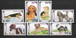 Mongolia 1991 Dogs   MNH - Mongolie