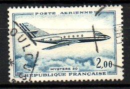 """FRANCE. PA 42 Oblitéré De 1965. """"Mystère 20"""". - 1960-.... Gebraucht"""