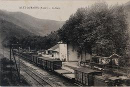 ALET Les BAINS - La Gare - France
