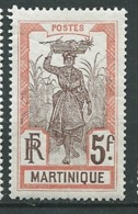 MARTINIQUE - Yvert N° 77 *    -  Po 62306 - Martinique (1886-1947)