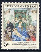 CZECHOSLOVAKIA 1968 FIP Day: Dürer Painting  MNH / **.  Michel 1805 - Czechoslovakia