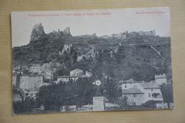 ROCHEMAURE-vieux Village Et Ruines Du Chateau-eolienne - Rochemaure