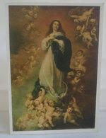 Madonna La Concezione Murillo Museo Del Louvre Cartolina  Non Viaggiata - Vierge Marie & Madones