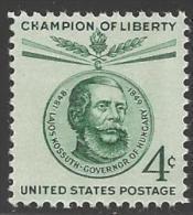 1958 4 Cents Kossuth Mint Never Hinged - Verenigde Staten