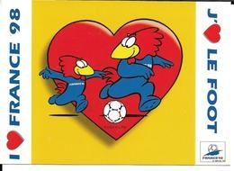 COUPE DU MONDE FOOTBALL FRANCE 98 - WORLD CUP 1998 - FOOTIX MASCOTTE OFFICIELLE - Football