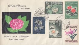 Enveloppe  FDC   1er  Jour   VIETNAM   Fleurs  :  Festival  D' Automne   1965 - Viêt-Nam