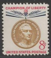 1959 8 Cents San Martin Mint Never Hinged - Unused Stamps