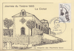 Carte   Locale    Journée  Du  TIMBRE    LA  CIOTAT    1985 - Stamp's Day