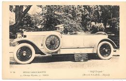 """AUTOMOBILE """" SKIFF TORPEDO """"  Henri LABOURDETTE Concessionnaire à Paris . - Passenger Cars"""