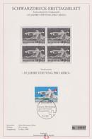 SUISSE  1988:  Feuillet PTT Pro Aero Avec Oblitération PJ - Svizzera