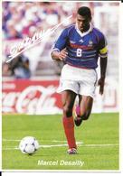 COUPE DU MONDE FOOTBALL FRANCE 98 - WORLD CUP 1998 - MARCEL DESAILLY CHAMPION - EQUIPE DE FRANCE CHAMPIONNE DU MONDE - Football