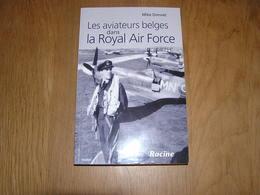 LES AVIATEURS BELGES DANS ROYAL AIR FORCE Guerre 40 45 Aviation RAF Avion Spitfire 349 350 Squadron Réseau Evasion - Guerre 1939-45