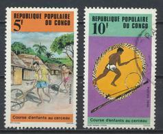 °°° REPUBBLICA DEL CONGO - Y&T N°771/72 - 1986 °°° - Congo - Brazzaville