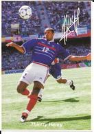 COUPE DU MONDE FOOTBALL FRANCE 98 - WORLD CUP 1998 - THIERRY HENRY CHAMPION - EQUIPE DE FRANCE CHAMPIONNE DU MONDE - Football