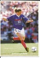 COUPE DU MONDE FOOTBALL FRANCE 98 - WORLD CUP 1998 - EMMANUEL PETIT CHAMPION - EQUIPE DE FRANCE CHAMPIONNE DU MONDE - Football