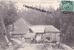 """CPA - 39 - CHAPOIS - LA SCIERIE """"Série Excursion Dans Le JURA"""" Voy En 1908 Bel état - Autres Communes"""