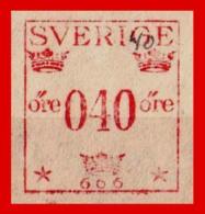 SUECIA .. SVERIGE (EUROPA )  FRANQUEO 0,40 ORE - Oficiales