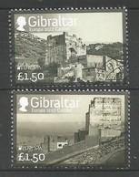 Gibraltar  2017 ,  EUROPA  CEPT  Schlösser Und Burgen - Gestempelt / Used / (o) - 2017